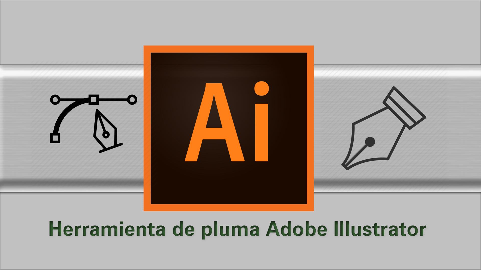 Tutorial Illustrator: Cómo usar la herramienta de pluma (pen tool) Adobe Illustrator